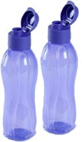 Tupperware Round Series 750 Ml Water Bottles (Set Of 2, Purple)