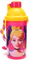 Disney Sipper Bottle 500 Ml Water Bottle (Set Of 1, Pink, Yellow)