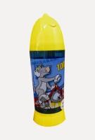Warner Bros Opaque 200 Ml Water Bottle (Set Of 1, Blue & Yellow)
