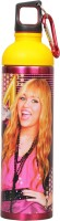 Disney Hannah Montana 750 Ml Water Bottle (Set Of 1, Pink:Yellow)