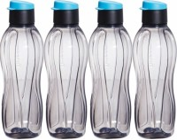 Tupperware Xtreme 750 Ml Water Bottles (Set Of 4, Black)