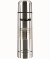 NIRLON Stainless Steel Vaccumn Flask 1000 Ml Water Bottle (Set Of 1, Silver)