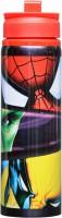 Disney Marvel Heroes 750 Ml Water Bottle (Set Of 1, Black:Red)
