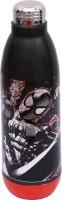 Marvel SPIDERMAN 900 Ml Water Bottle (Set Of 1, Black, Red)
