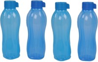 Tupperware Aquasafe 1000 Ml Water Bottles (Set Of 4, Blue)