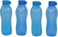 Tupperware Aquasafe 1000 Ml Water Bottles (Set Of 4, Blue)