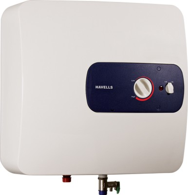 Havells Bello 25 L Storage Water Geyser White, Blue