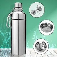 MIROO 503 Ml Water Purifier Bottle (Silver)