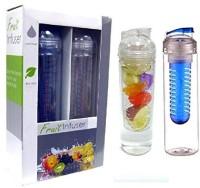 Sports Water Bottle Fruit Infuser 946 Ml Water Purifier Bottle (White)