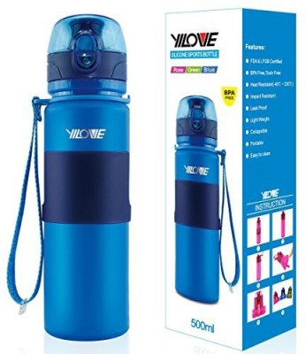 Yilove 503 Ml Water Purifier Bottle (Blue)