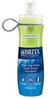 Brita 710 Ml Water Purifier Bottle (Green)
