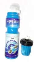 Auqa Sure 750 Ml Water Purifier Bottle (Blue)