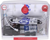 Say 6 Stage 12 L RO + UV Water Purifier (Red, Clear)