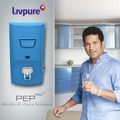 Livpure Pep Pro++ 7 L RO + UV +UF Water Purifier (Blue)