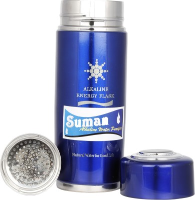 SUMAN CARTRIDGE FOR ALKALINE FLASK (silver/blue/black) Gravity Based Water Purifier (Silver)