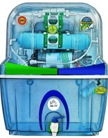 Delta PLATINUM - A2 15 L RO UV With TDS Control Mineral Cartridge Water Purifier (Light Blue)