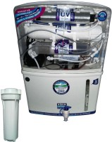 Cleanwell Aqua Grand + Heavy Duty 3G RO UV UF Mineral TDS 12 L RO + UV Water Purifier (White)
