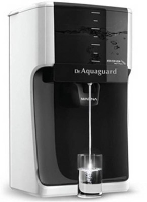 Aquaguard Magna HD RO+UV 7 L RO + UV Water Purifier (Black & White)