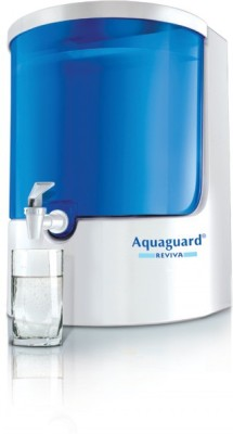 Aquaguard REVIVA 8 L RO + UV Water Purifier (White, Blue)