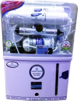 Grand Aqua Fresh Gaf Grand Plus 10 L RO + UV +UF Water Purifier (Transparent And White)