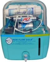 Kem Flow Gold Aqua Purifier 10 L RO + UV Water Purifier (Green)