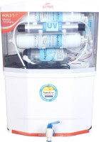 AquaLive Venus 12 L RO + TDS 12 L RO + UV Water Purifier (White)