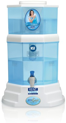 Kent Gold 20 L UF Water Purifier (White & Blue)