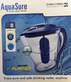 Eureka Forbes Mobile 2.5 Litre Gravity Based Water Purifier