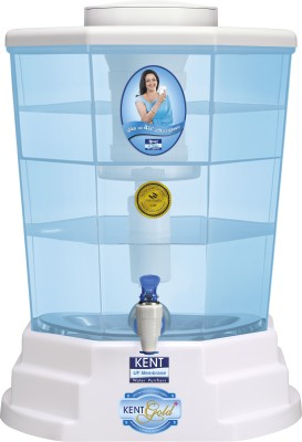 Kent Gold Plus 20 L UF Water Purifier (White & Blue)