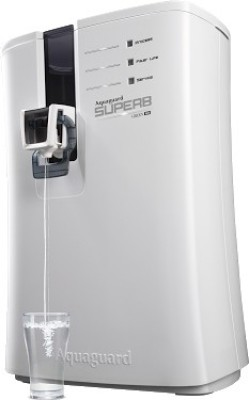 Aquaguard Superb RO 6.5 L RO Water Purifier (Black and White)