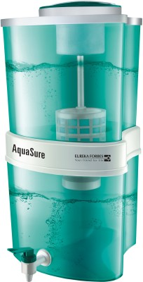 Eureka Forbes Aquasure Aayush 22 L Gravity Based Water Purifier (Green)