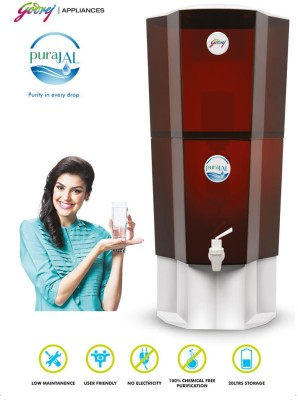 Godrej PuraJAL 20 L Gravity Based Water Purifier (Multicolour)