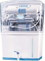 PURO + RO1 10 L RO + UV Water Purifier (White, Blue)