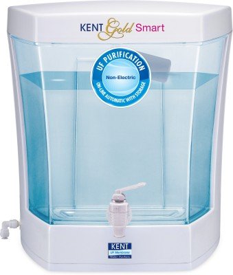 Kent Gold Smart 7 L UF Water Purifier (White & Blue)