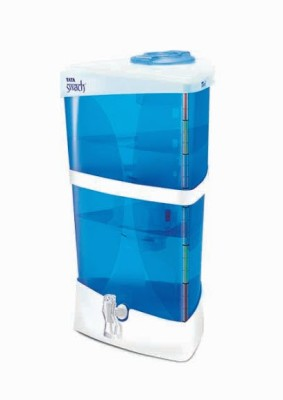 Tata Swach Cristella 18 L Gravity Based Water Purifier (Blue)