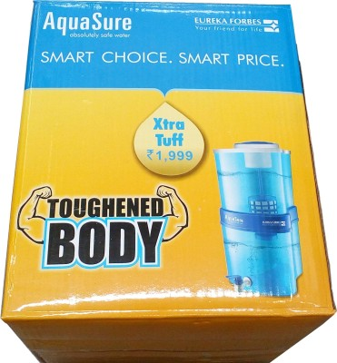 Eureka Forbes Aquasure Xtra Tuff 16 L Water Purifier (White, Blue)