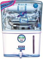 Aqua Fresh Grand Plus Stage 14 10 L RO + UV +UF Water Purifier (White)