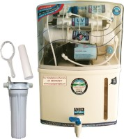 Aquagrand Plus 9 Stage 15 LTR With Pre Filter And TDS Adjuster 15 L RO + UV +UF Water Purifier (White)