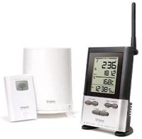 Oregon Scientific Oregon Wireless Rain Gauge With Outdoor Thermometer RGR126N Weather Station