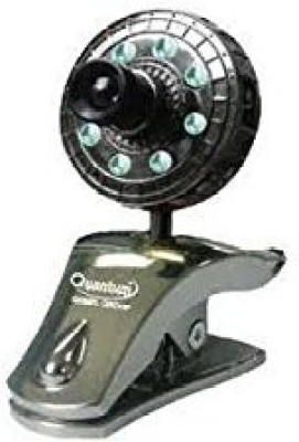 Quantum QHM 500 LM CAMERA (with 8 lights & 30 megapixel)  Webcam (Black)
