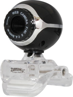 Zebronics Lucid Plus Webcam (Black)