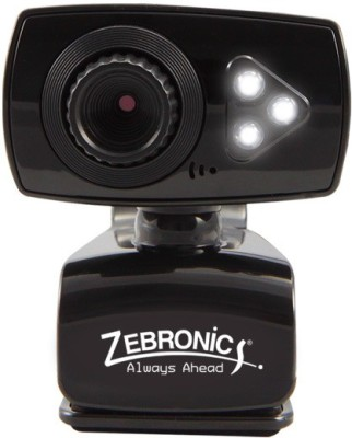 Zebronics viperplus  Webcam (BLACK)