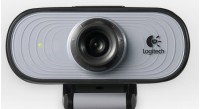 Logitech C100 Webcam (Black & Grey)