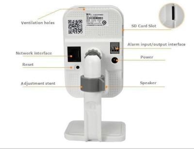 Hikvision 1.3 MegaPixel-01  Webcam (White)