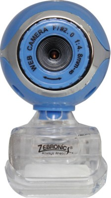 Zebronics Lucid Plus Webcam (Blue)