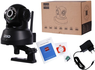 D3D IP Camera W-Hd  Webcam (Black)