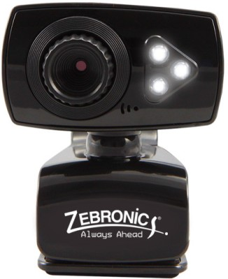 Zebronics Viper Plus  Webcam (Black)