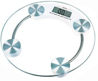 Aliston Digital Personal Thick Tempered 8mm Glass Weighing Scale (White)