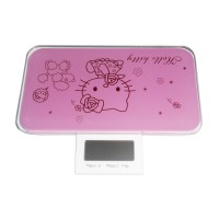 Emob Weight Calculating Machine With LCD Screen- Light Pink Weighing Scale (Pink)