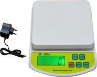 VIRGO Digital Kitchen Multi-Purpose 10 Kg Weighing Scale (White)